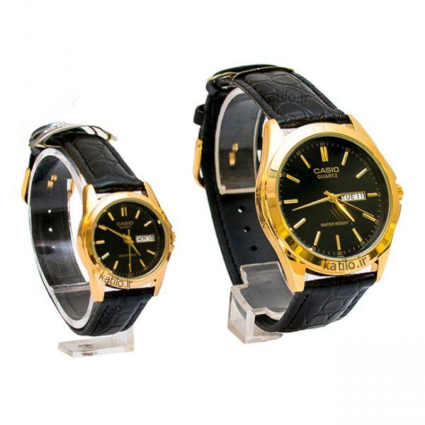 خرید ساعت ست زنانه و مردانه کاسیو Casio مشکی