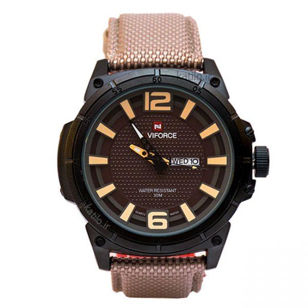 خرید ساعت مردانه ناوی فورس - مدل NaviForce NF9066M کرم