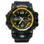 خرید ساعت مردانه کاسیو جی شاک Casio G-Shok مشکی طلائی