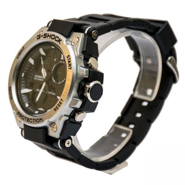 خرید ساعت مردانه کاسیو جی شاک Casio G-Shok صفحه فلزی نقره ای مات