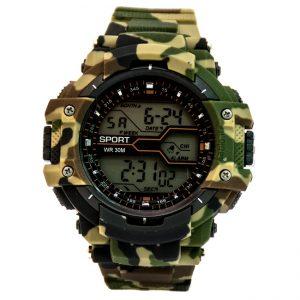 خرید ساعت مردانه کاسیو جی شاک Casio G-Shok سبز ارتشی