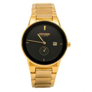 خرید ساعت مردانه سیتیزن - مدل Citizen Eco-Drive J165 طلائی