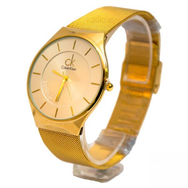 خرید ساعت مردانه ck - مدل ck A69158 طلائی