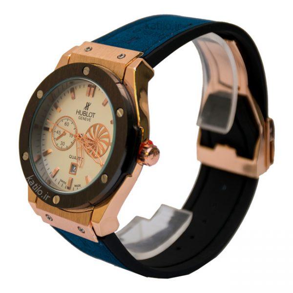 خرید ساعت مردانه هابلوت - مدل Hublot 882888 سورمه ای