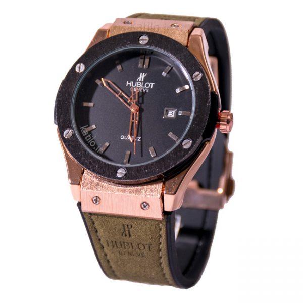 خرید ساعت مردانه هابلوت - مدل Hublot 882888 زیتونی