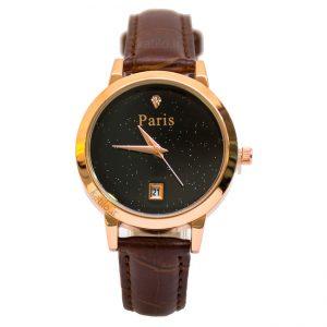 خرید ساعت مچی زنانه پاریس Paris قهوه ای