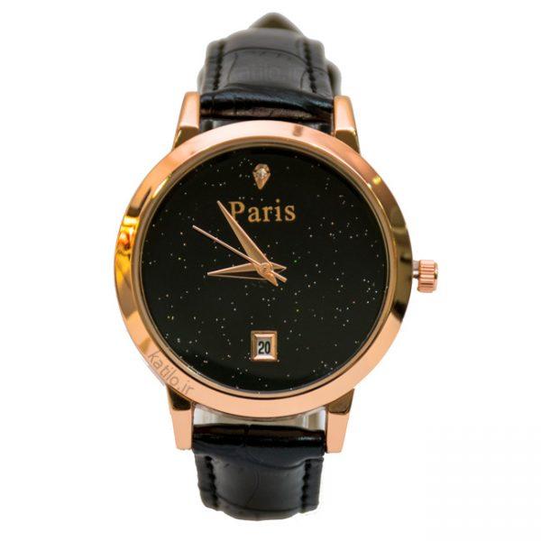 خرید ساعت مچی زنانه پاریس Paris مشکی