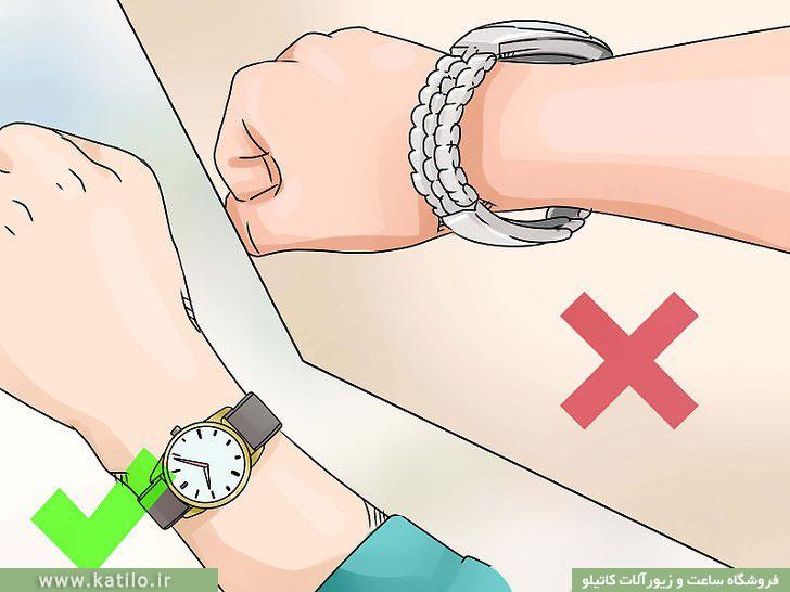 4 نکته در مورد نحوه صحیح استفاده از ساعت مچی