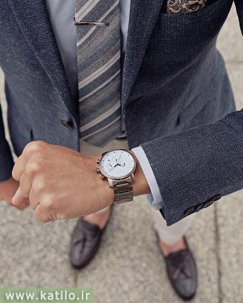 چند توصیه جهت ست کردن ساعت مچی آقایان با اکسسوری های مختلف