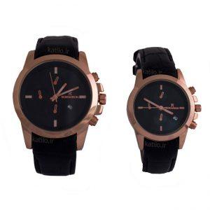 خرید ساعت ست زنانه و مردانه رومانسون Romanson مشکی